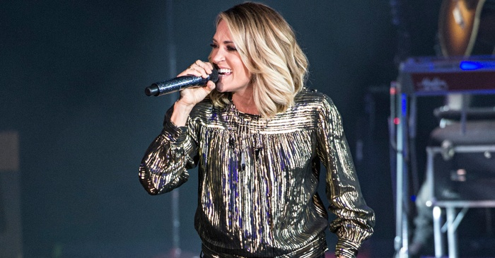Carrie Underwood drops a huge hint about some major fall plans