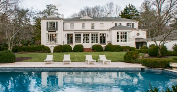 Find out which country star just sold this Nashville mansion for nearly $3 million