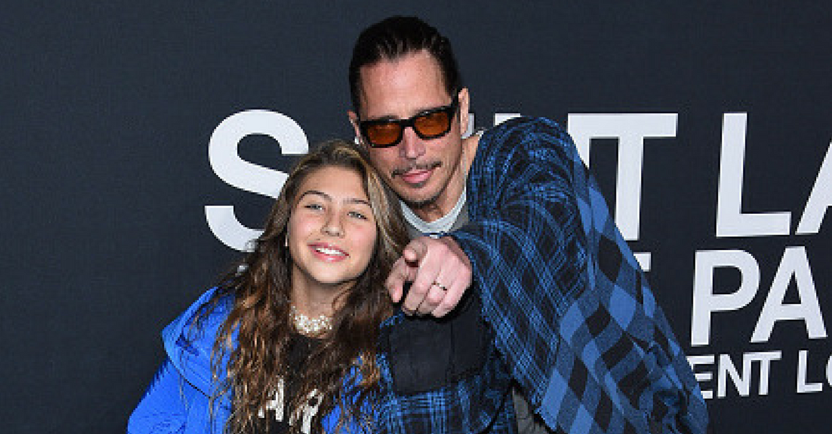 Chris Cornell's daughters and widow pen tear-jerking letters to the late singer after Father's Day