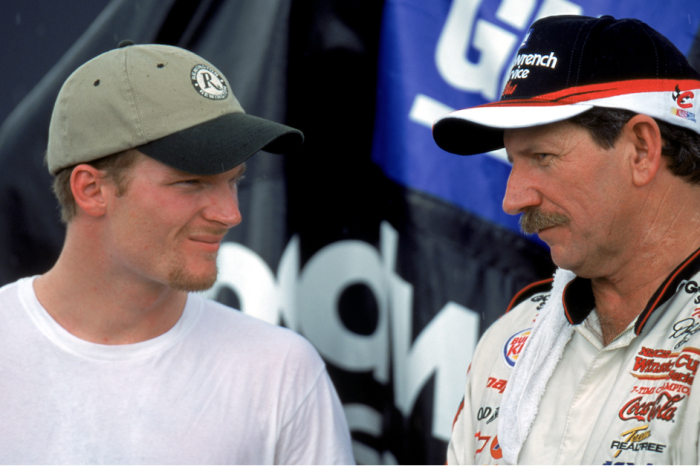 Dale Earnhardt Jr. tells why he's still haunted by the memories of his dad
