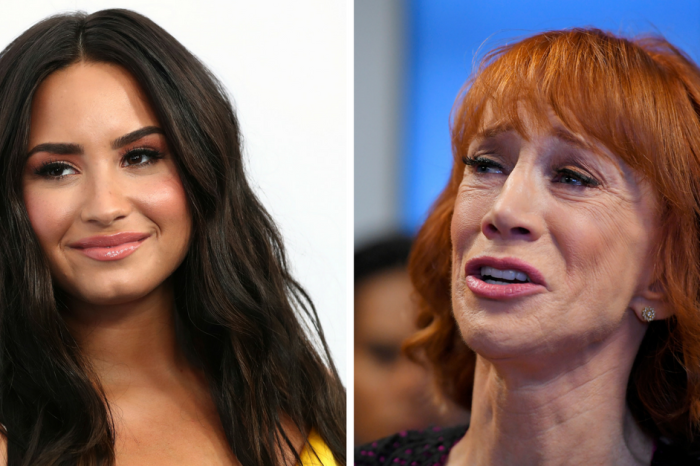Demi Lovato is not buying Kathy Griffin's tearful apology for her beheaded Trump photo