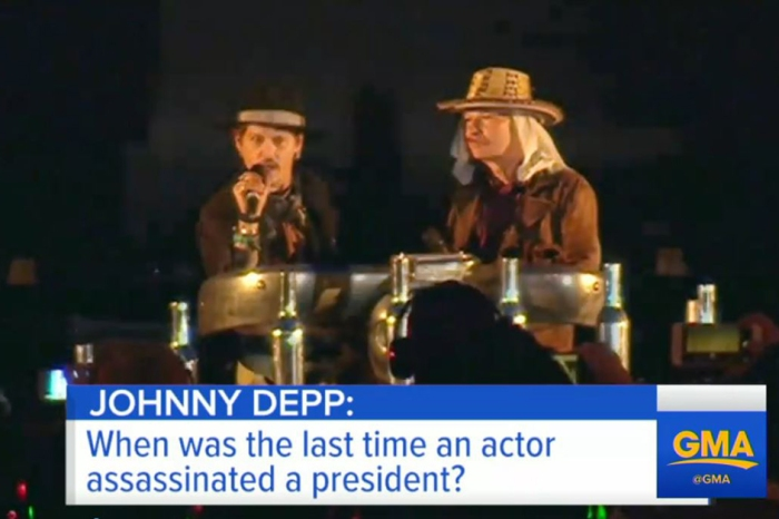 The White House responds to Johnny Depp's controversial Trump comments
