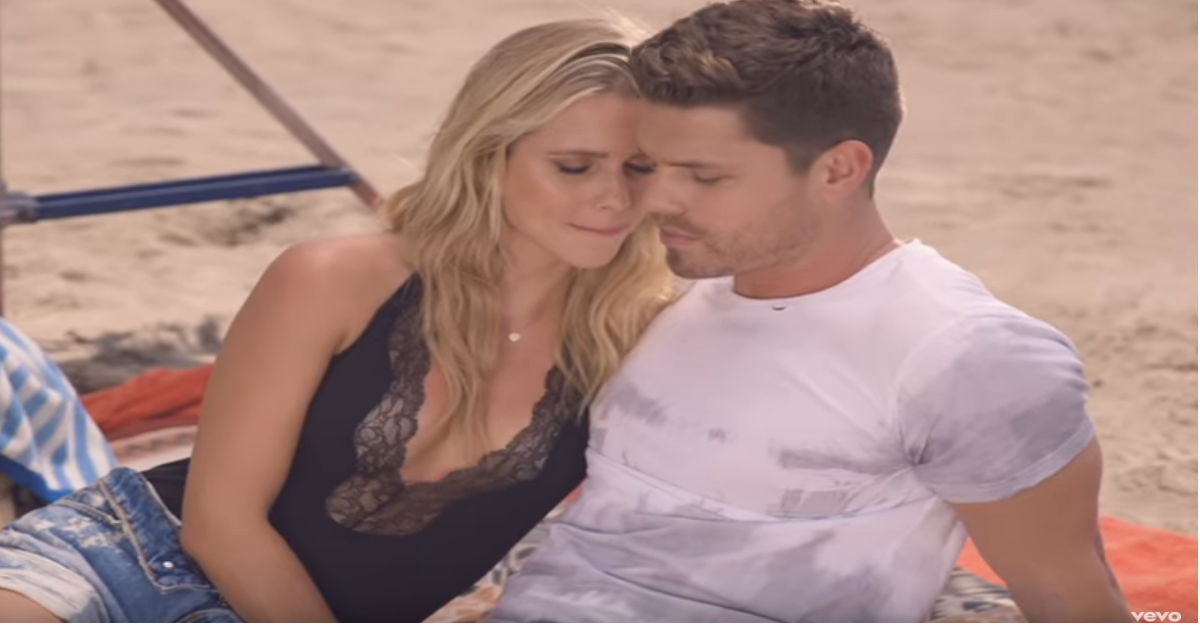 A country star gets more rumors swirling via sexy video shoot
