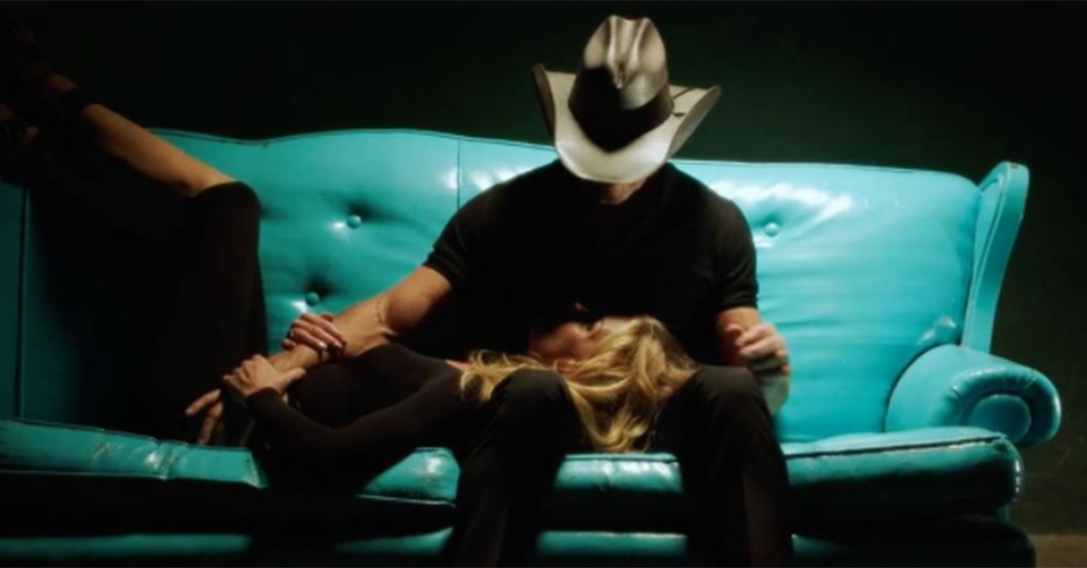 Faith Hill and Tim McGraw just dropped the sexiest teaser for their upcoming video