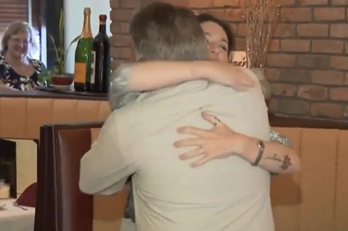 After 40 years apart, a father and daughter connect on Facebook and meet just in time for Father's Day