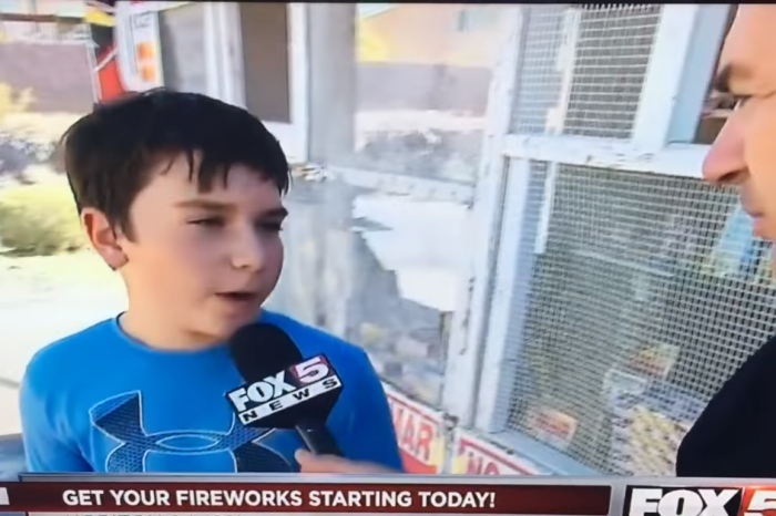 A smartass child hilariously humiliated an inquisitive reporter on live TV