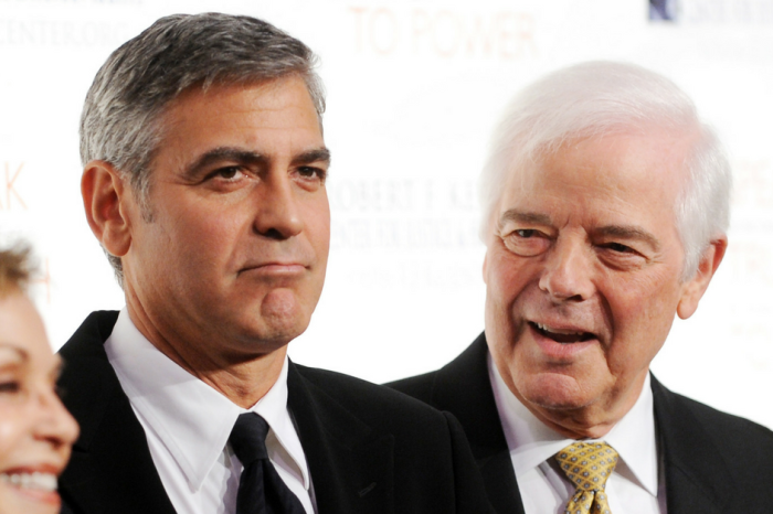 "George Clooney's father can't stop gushing about his ""gorgeous"" grandchildren"