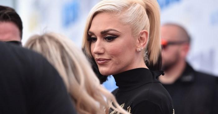 Gwen Stefani is walking all over Blake Shelton