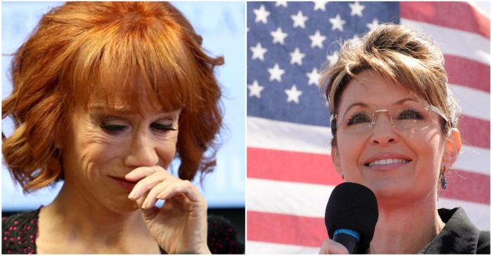 "Sarah Palin weighs in on Kathy Griffin and calls out her ""crocodile tears"""