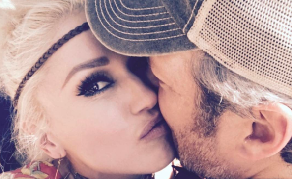 Gwen Stefani showers Blake Shelton with birthday gifts and kisses
