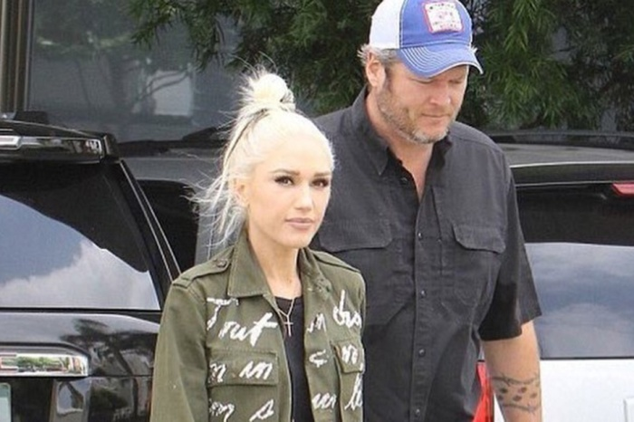 Fans are speculating over Blake Shelton and Gwen's Stefani's recent visit to the recording studio