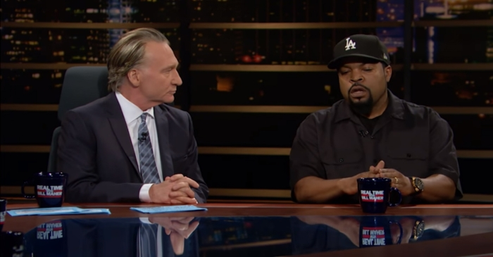 "Ice Cube went on ""Real Time"" and chastised Bill Maher for his flagrant use of an offensive word"