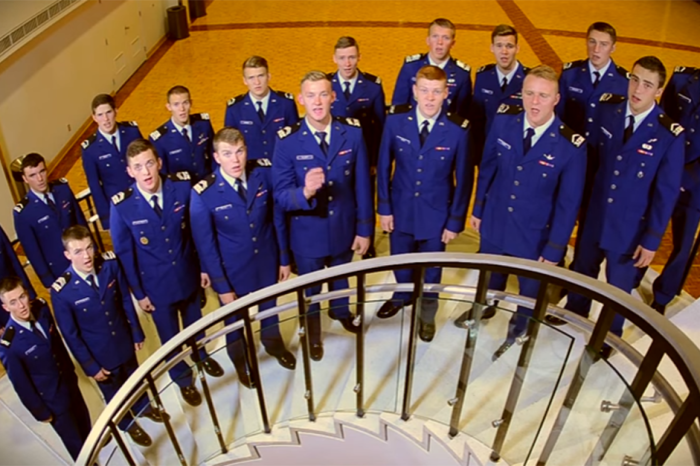 """""""America's Got Talent"""" welcomes all-male a capella group from one of the nation's top military schools"""