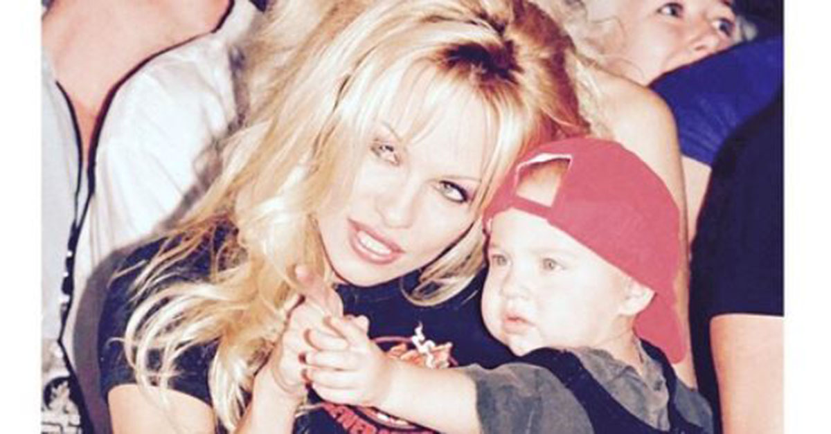 Pamela Anderson and Tommy Lee's son is all grown up, and he's making fans feel pretty old