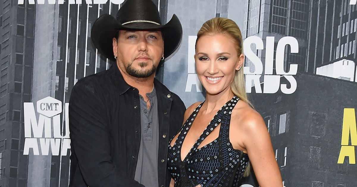 There's no denying that Jason Aldean's wife is expecting in this hot photo