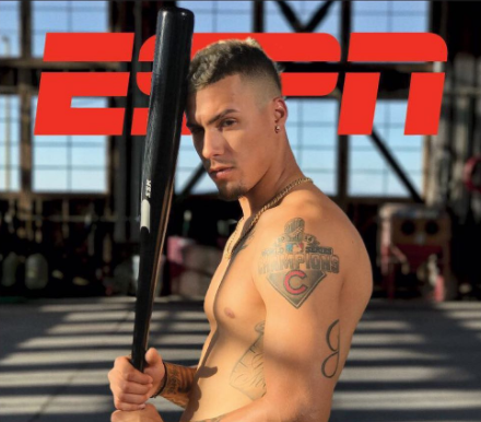 This Chicagoan just proved he's much more than a Cub after he made the cover of ESPN Magazine's Body Issue
