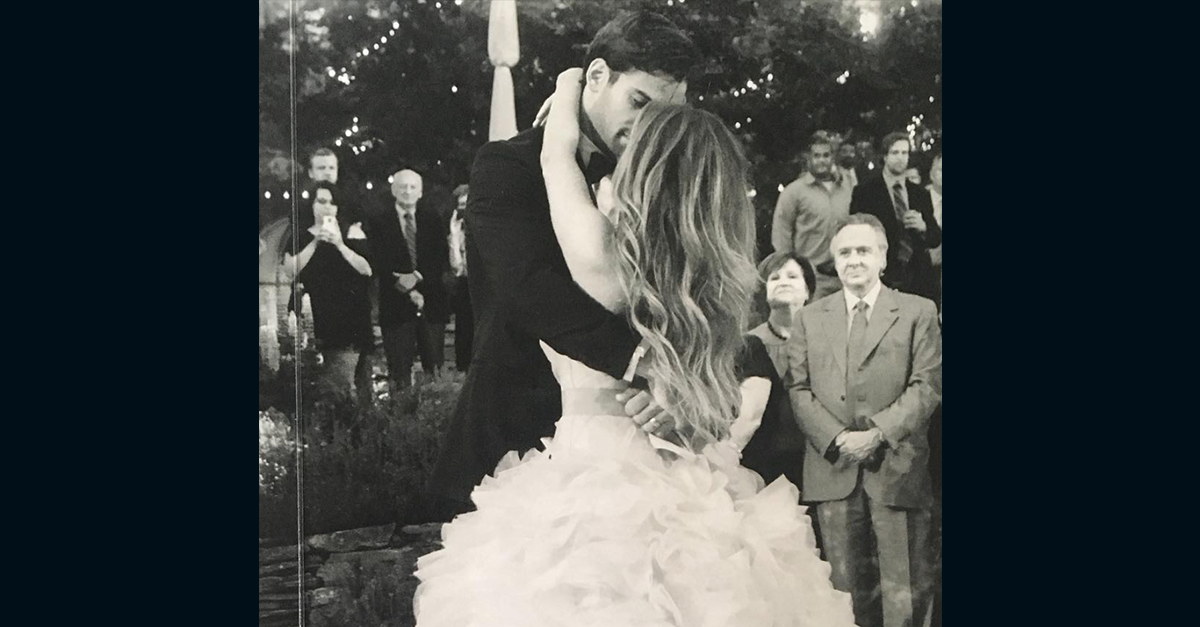 "This ""it"" couple's love is still rock solid four years after this dream wedding"