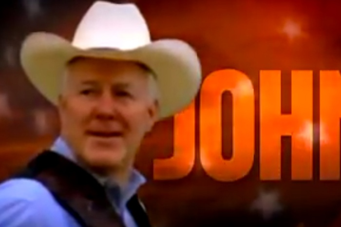 This campaign ad for Sen. John Cornyn is almost 10 years old, but you'll still be able to chuckle