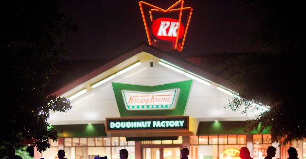 Hey teachers, Krispy Kreme is giving you free coffee this summer