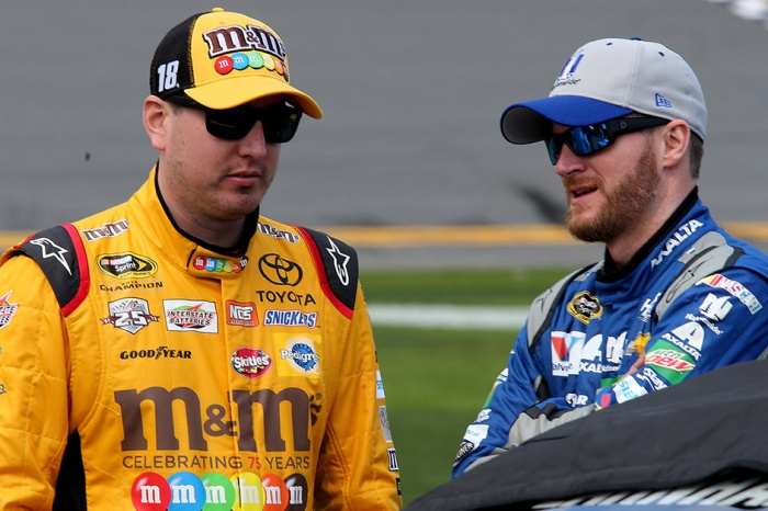 Dale Earnhardt Jr. shares a recent and revealing conversation with Kyle Busch