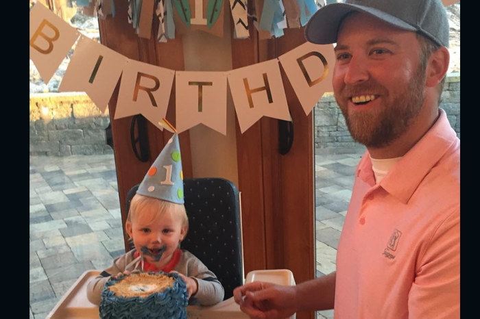 Lady Antebellum frontman's baby boy is a bit of a wild man