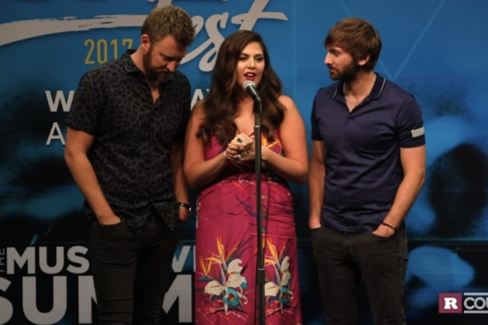 Lady Antebellum is breathing a sigh of relief after a high-flying incident