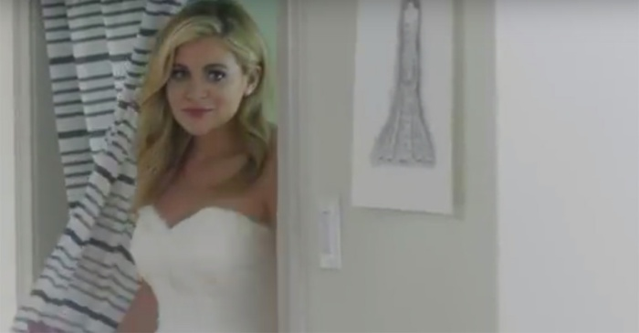 Lauren Alaina puts on a wedding dress for this big role