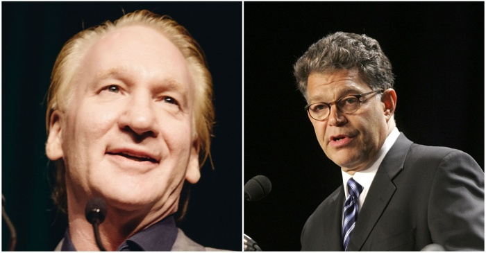 """Al Franken defends Bill Maher after canceling """"Real Time"""" appearance: """"He's not a racist"""""""