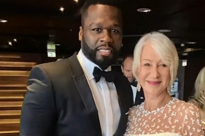 "50 Cent definitely has a crush on Helen Mirren: ""She's got that thing!"""