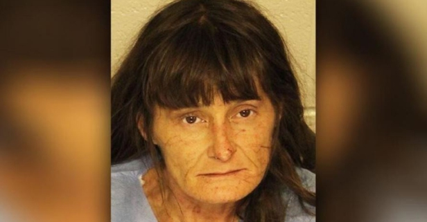 A naked woman on drugs said Jesus was chasing her when she tried to break into a church