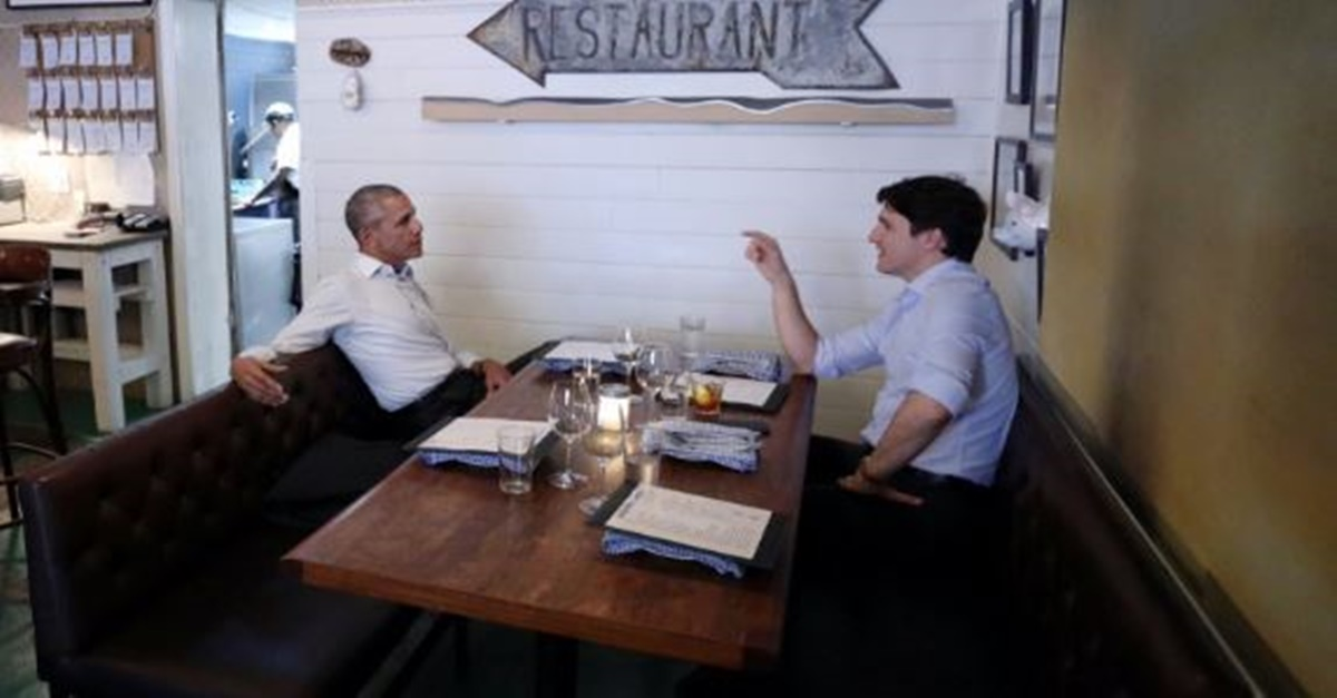 Obama and Trudeau met to discuss an issue that is important to them both, and the internet is swooning