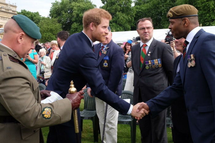 Prince Harry hosted his very first Buckingham Palace garden party, and it was for a great cause