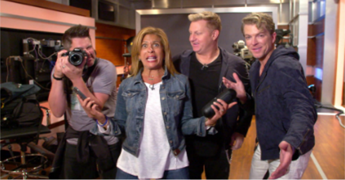 "Rascal Flatts just teamed up with ""Today's"" Hoda Kotb for the ultimate surprise"