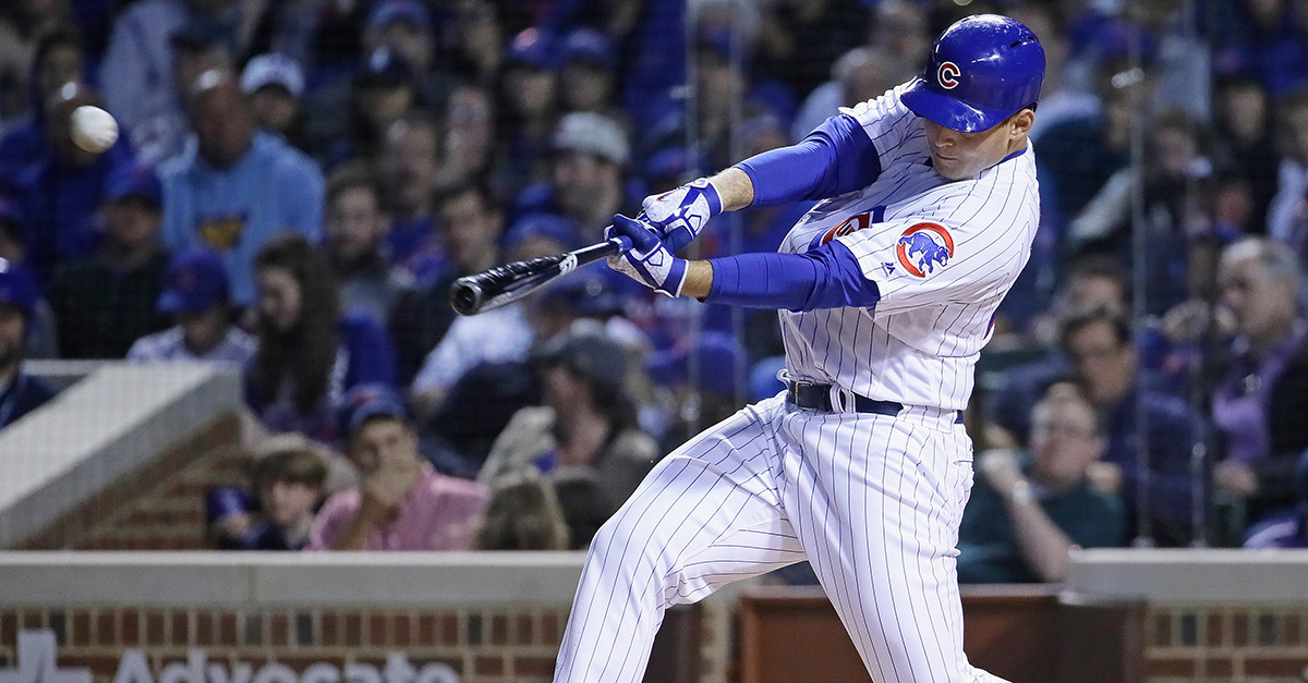 Chicago Cubs' Twitter uses Anthony Rizzo home run to respond to Hawk Harrelson