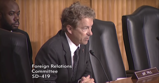 Rand Paul explains why open-ended, never-ending war is dangerous for America