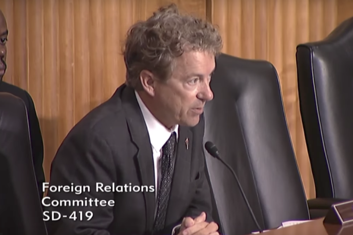 Rand Paul explains why open-ended, never-ending war is dangerous for America