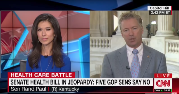 "Rand Paul: ""Weak-kneed Republicans"" need to ""get over themselves"" and repeal Obamacare"