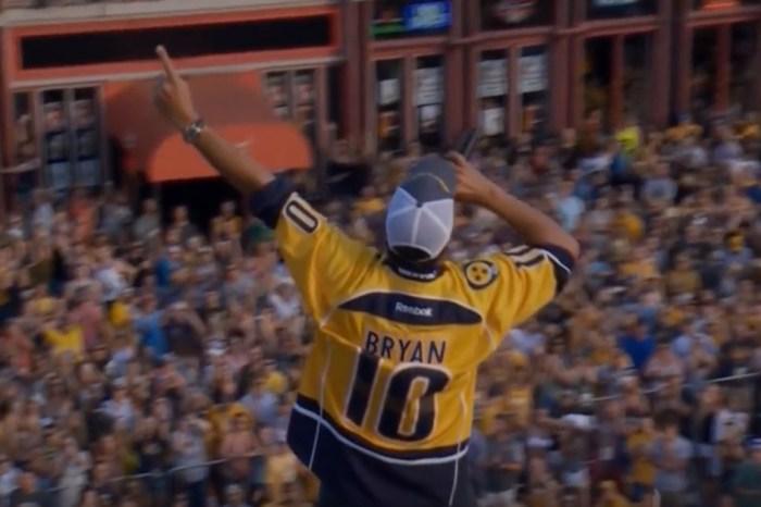 Watch as Luke Bryan rocks a downtown Nashville rooftop