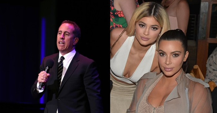 Jerry Seinfeld wants to know what's the deal with the Kardashians