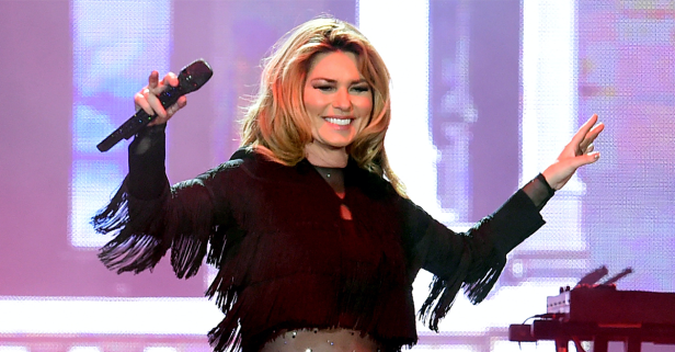Shania Twain faced her fear of going it alone with this brand-new song