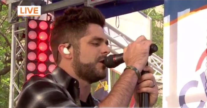 "Thomas Rhett left fans craving more during this ""Today"" show concert"