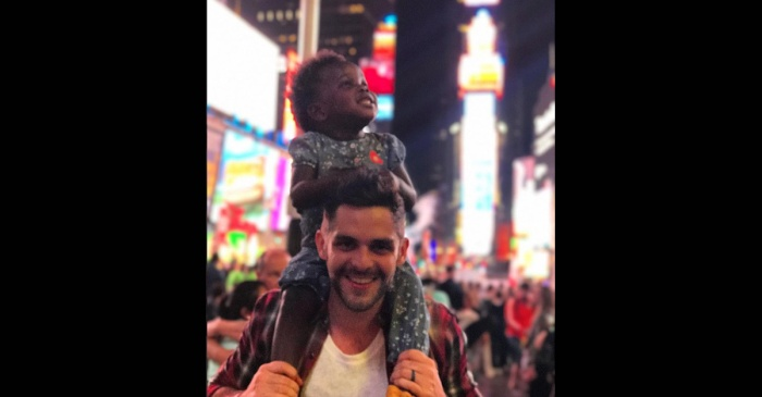 Thomas Rhett and Lauren's daughter has come a long way — literally