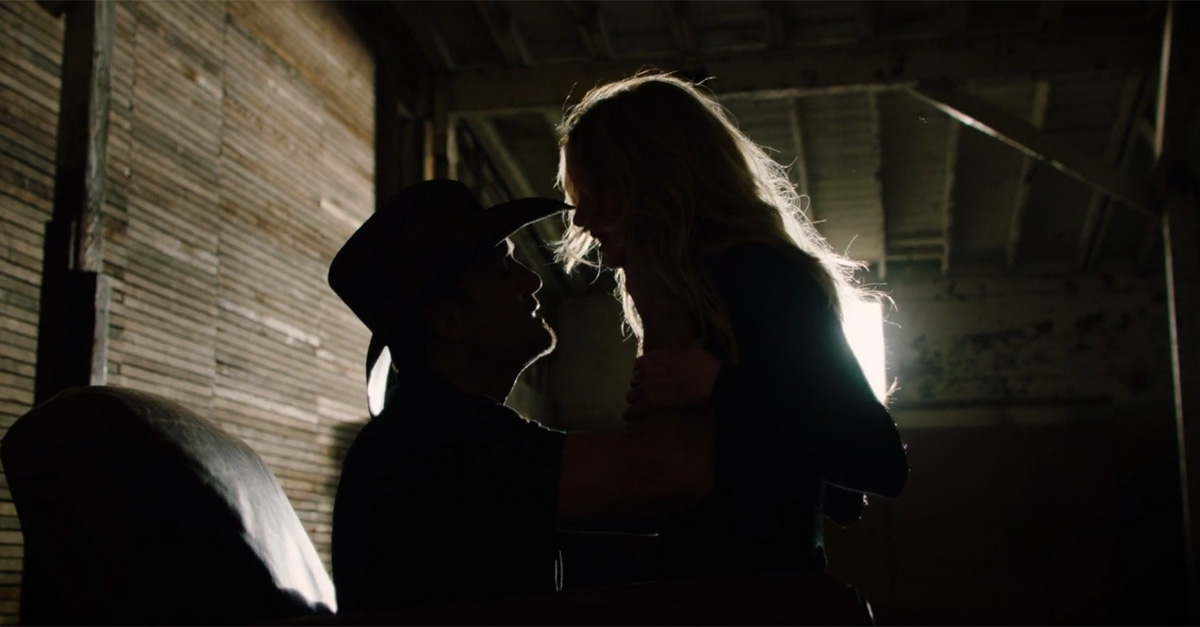 Faith Hill and Tim McGraw are giving us goose bumps with their sexy new video