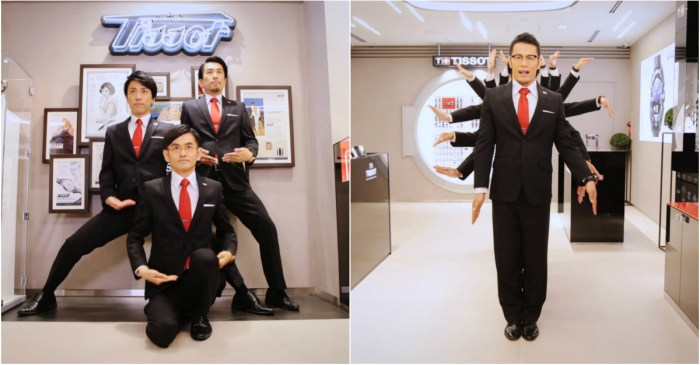 This bonkers Japanese commercial will have you running to the nearest watch store