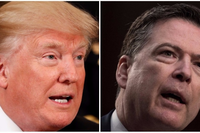 Surprise! Fired FBI director James Comey already has a book deal in the works