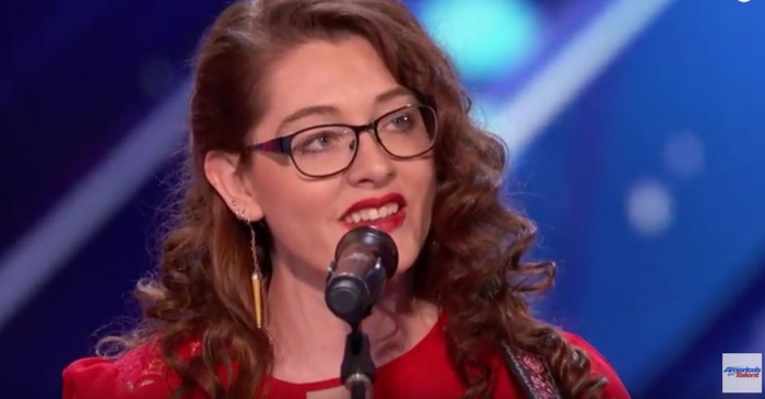"The audience and judges were moved to tears when this inspiring deaf singer took the stage on ""AGT"""