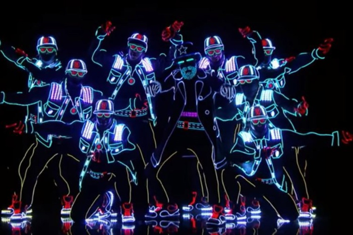"Prepare to be amazed by these incredible light-up dancers from ""America's Got Talent"""