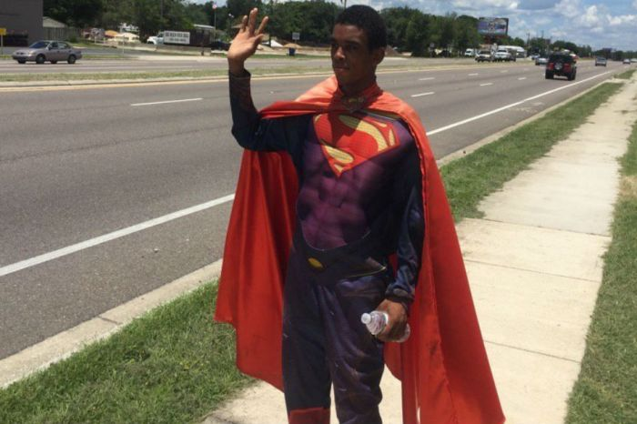 This jerk had the worst reason to assault a local superhero, who is deaf and autistic