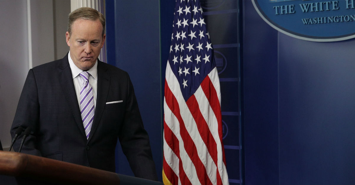 One representative was so fed up with the White House press briefings that he introduced a new bill