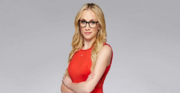 Fox News host Kat Timpf says she was targeted by a stranger who dumped water on her